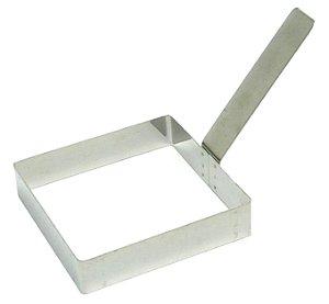 Modelador De Ovo Quadrada Espess 0,9 Mm (Inox