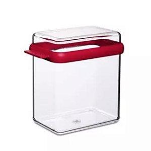 Caixa Armazenamento Stora 1100ml Vermelha 01un