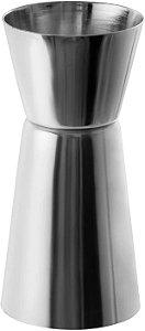 Dosador Duplo Inox Mimo Style