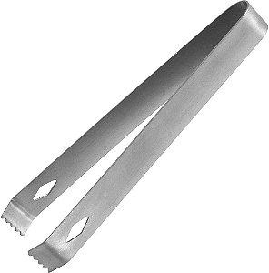 Pinca Para Gelo Pegador (Inox) 17cm