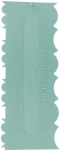 Espatula Decorativa (Plas) 11 Verde Tiffany 1un
