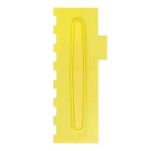 Espatula Decorativa (Plas) 07 Amarela Com 1un