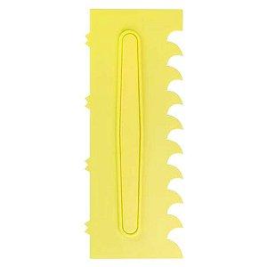 Espatula Decorativa (Plas) 06 Amarela Com  1un
