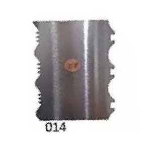 Espatula Decorativa (Inox) 12x10cm Modelo 014