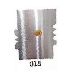 Espatula Decorativa (Inox) 12x10cm Modelo 018