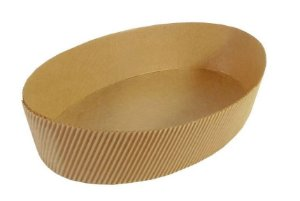 Forma Colomba Oval 500g Kraft Com  5un