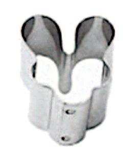 Cortador Jaboti (Inox) 6x2 Com 2un