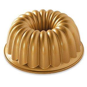 Forma Para Bolo (Alum) Gold Elegant Party