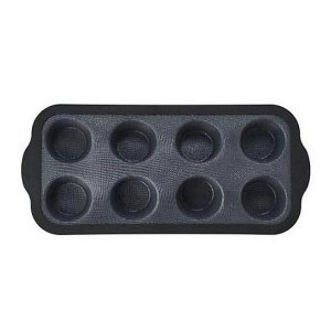 Forma Fibra Vidro Silicone P/8 Muffins