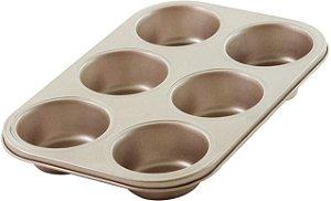 Forminha Para Cupcake Com  6 Cav Lumiere