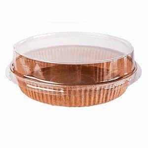 Forma Torta (Pie) 90x20 Marrom 10un