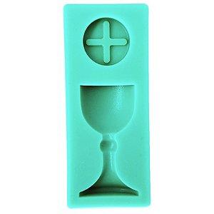 Molde De Silicone Para Confeiteiro Batismo