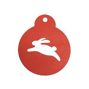 Stencil Cupcake Coelho Ref 0736 1un