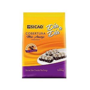 Cobertura Chocolate Meio Amargo Si Facil 2,05kg