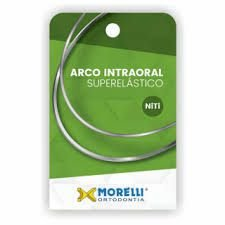 "Arco Intraoral Superelástico Médio NiTi Ret. 0,48x0,63mm (.019""x.025"")"