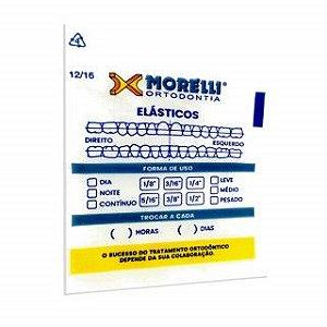 Embalagem p/ Elástico Ortodôntico 50 Unidades