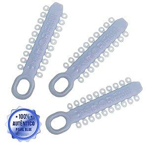 Elástico Ligadura Modular Pearl Blue