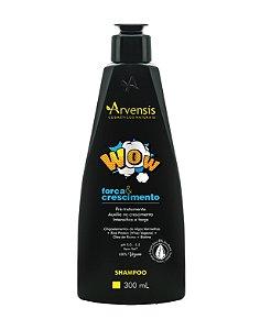 Shampoo Wow Força E Crescimento Arvensis 300Ml