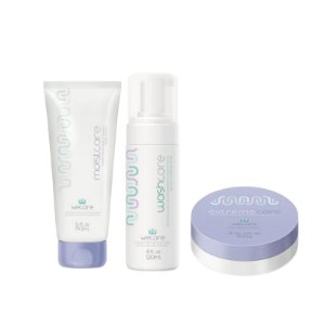 Kit Quimio Wecare - washcare + moistcare 192ml + extremecare 120g