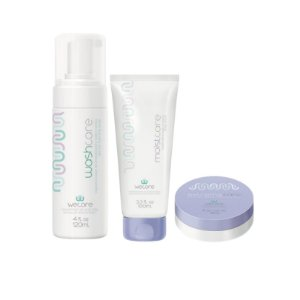 Kit Quimio Wecare - washcare + moistcare 100 ml + extremecare 60g