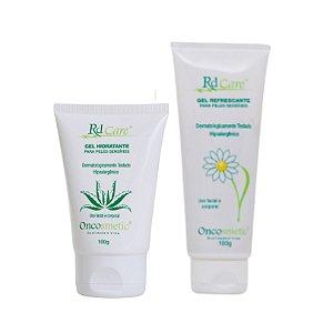 Kit Hidratação - Gel Hidratante + Gel Refrescante - Oncosmetic 100g