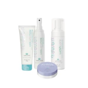 Kit Radioterapia Wecare - Washcare + Extremecare 60g + Coolcare mask