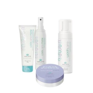 Kit Radioterapia Wecare - Washcare + Extremecare 120g + Coolcare mask