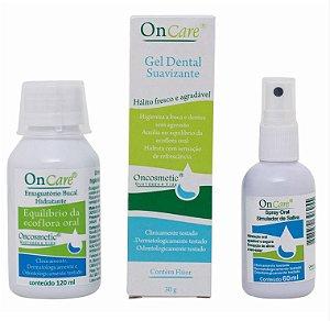 Kit OnCare Oncosmetic - alívio boca seca - P
