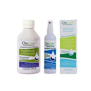 Kit OnCare Oncosmetic - alívio boca seca - G