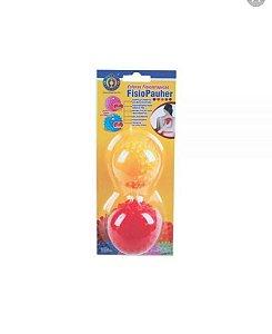 Kit com duas esferas fisioterápicas da FisioPauher
