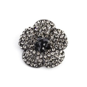 Broche formato de flor