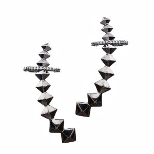 Brinco grafite  - Ear Cuff