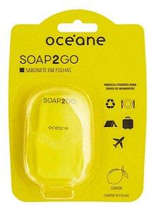 Sabonete em Folha Océane - Soap2Go Limão