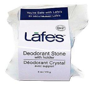 Desodorante de Pedra Natural Cristal Mini Stick 142g com Suporte – Lafe's