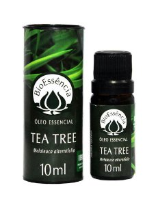 Óleo Essencial Natural de Tea Tree/Melaleuca 10ml – BioEssência