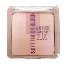 Soft Touch Blush 6 in 1 Nude Ruby Rose Cor 4