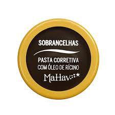 Pasta Corretiva com Óleo de Rícino Cor 1 MaHav