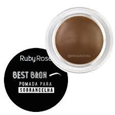 Pomada para Sombrancelha Best Broh Light Ruby Rose