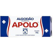 Algodão Hidrófilo Apolo 100g
