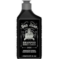 Shampoo Barba e Cabelo Don Juan Barba Forte