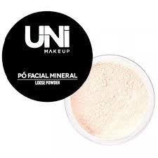 Pó Facial Mineral Loose Powder Cor 01 Uni MakeUP