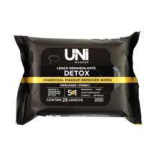 Lenço Demaquilante Detox Uni MakeUP
