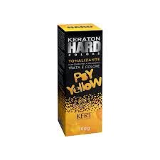 Keraton Hard Colors Tonalizante Psy Yellow 100g