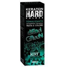 Keraton Hard Colors Tonalizante Diesel Green 100g