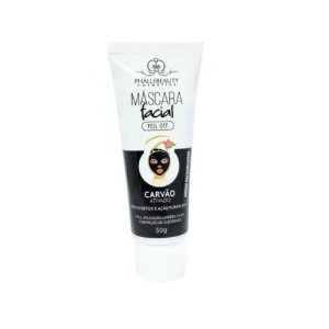 Máscara Facial Carvão Ativado Peel Off Phállebeauty 50g