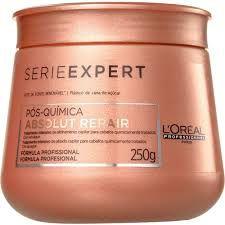 Mascara de Hidratação Pós-Quimica Absolut Repair Serie Expert L'oréal 250g