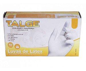 Luva de Látex Para Segurança e Proteção das Mãos Tamanho P Talge