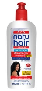 CREME MANUTENCAO NATU HAIR FREE SOS 300ML