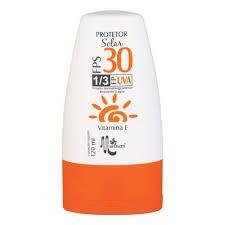 Protetor Solar FPS 30 1/3 FPUVA Vitamina E Marchetti 120ml