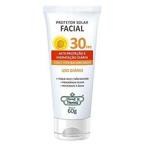 Protetor Solar Facial FPS 30 Flores & Vegetais 60g